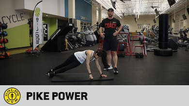 Pike Power by Gold's Gym Anywhere