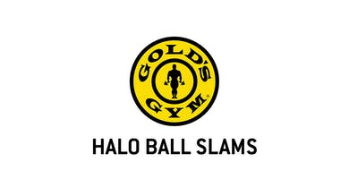 Halo Ball Slams by Gold's Gym Anywhere