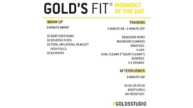 April 16 - GOLD'S FIT by Gold's Gym Anywhere