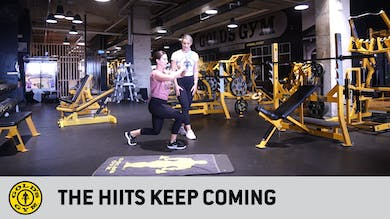 The HIITs keep coming by Gold's Gym Anywhere