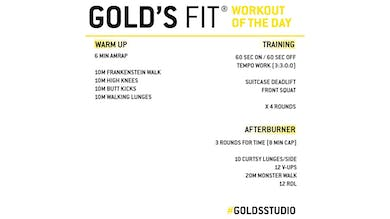 MAY 5 - GOLD'S FIT by Gold's Gym Anywhere