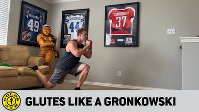 Episode 3: Glutes like a Gronkowski by Gold's Gym Anywhere