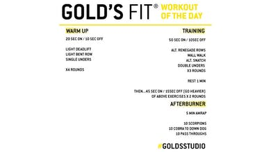 May 4 - GOLD'S FIT by Gold's Gym Anywhere