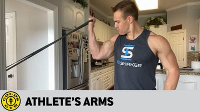 Athlete's Arms by Gold's Gym Anywhere