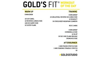 MAY 21 - GOLD'S FIT by Gold's Gym Anywhere