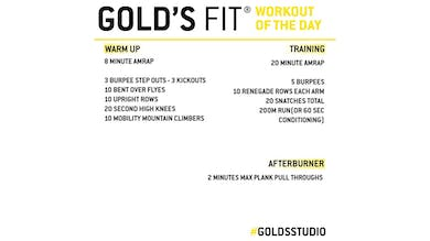 April 3 - GOLD'S FIT by Gold's Gym Anywhere