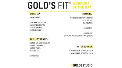 MAY 29 - GOLD'S FIT by Gold's Gym Anywhere