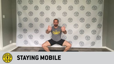 Staying Mobile by Gold's Gym Anywhere