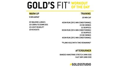 MAY 14 - GOLD'S FIT by Gold's Gym Anywhere