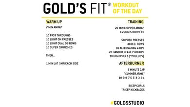 April 27 - GOLD'S FIT by Gold's Gym Anywhere