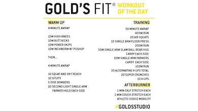 March 24 - GOLD'S FIT by Gold's Gym Anywhere