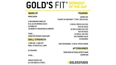 JUNE 9 - GOLD'S FIT by Gold's Gym Anywhere