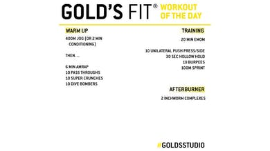 MAY 20 - GOLD'S FIT by Gold's Gym Anywhere