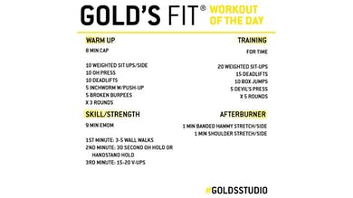 April 17 - GOLD'S FIT by Gold's Gym Anywhere