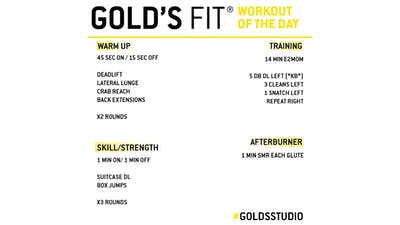 JUNE 4 - GOLD'S FIT by Gold's Gym Anywhere