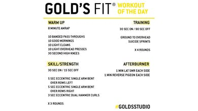 April 7 - GOLD'S FIT by Gold's Gym Anywhere