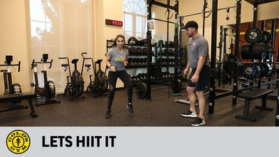 Lets HIIT It! by Gold's Gym Anywhere