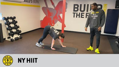 New York HIIT by Gold's Gym Anywhere