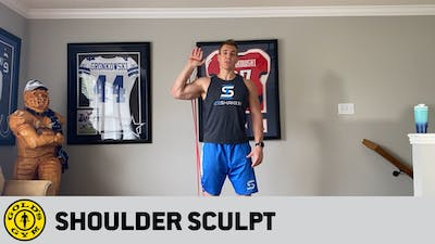 Episode 1: Shoulder Sculpt by Gold's Gym Anywhere