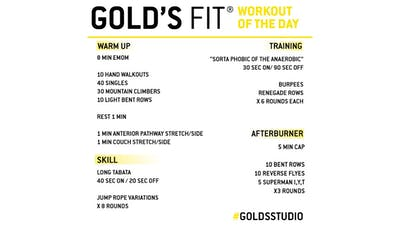 May 26 - GOLD'S FIT by Gold's Gym Anywhere