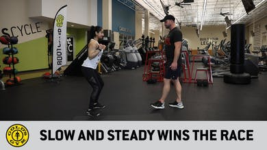 Slow and Steady Wins the Race by Gold's Gym Anywhere