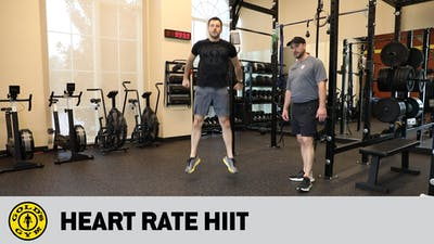 Heart Rate HIIT by Gold's Gym Anywhere