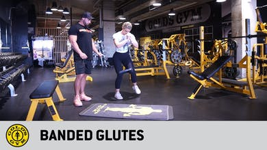 Banded Glutes by Gold's Gym Anywhere