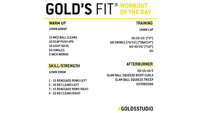 JUNE 12 - GOLD'S FIT by Gold's Gym Anywhere