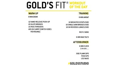 MAY 6 - GOLD'S FIT by Gold's Gym Anywhere