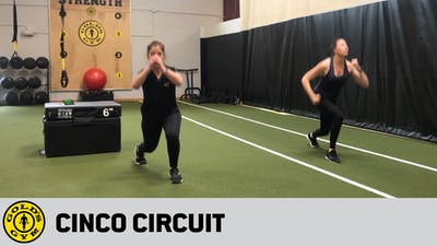 Cinco Circuit by Gold's Gym Anywhere