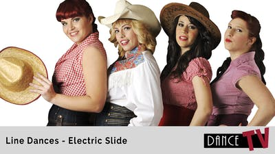 Electric Slide Line Dance by Dance TV LLC