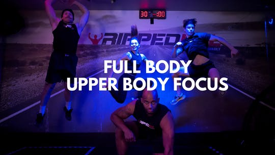 Full Body Upper Body by RippedPHL On Demand