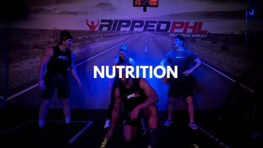 Nutrition by RippedPHL On Demand