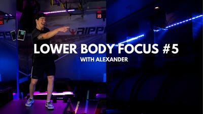 Lower Body Focus #5 (with Alexander) by RippedPHL On Demand