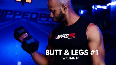 Butt & Legs #1 (with Malik) by RippedPHL On Demand