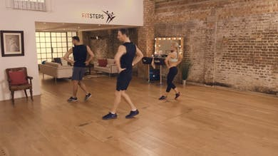 Full Workout with Natlaie Lowe & Ian Waite by FitSteps LTD