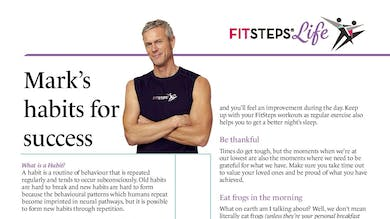 Marks Habits for Success by FitSteps LTD