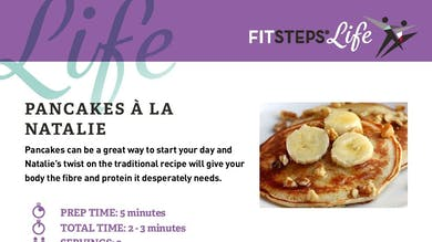 Pancakes a la Natalie by FitSteps LTD