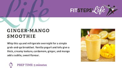 Mango Smoothie by FitSteps LTD