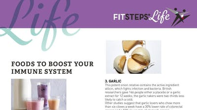 Foods for the Immune System by FitSteps LTD