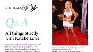 All things Strictly with Natalie Lowe by FitSteps LTD