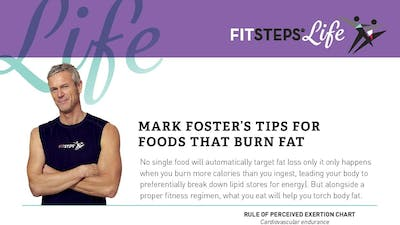 Marks Guide to Foods that Burn Fat by FitSteps LTD