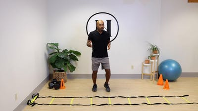 20 Minute Athletic Conditioning with Jesse (ages 9-12) by Movement On Demand 608