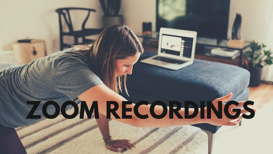 Zoom Recordings by Movement On Demand 608