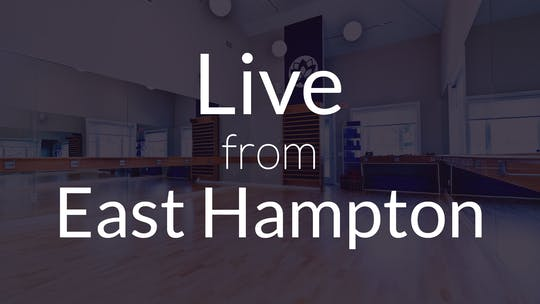 LIVE FROM EAST HAMPTON by Elements On Demand
