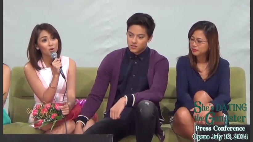 Presscon of shes dating the gangster full