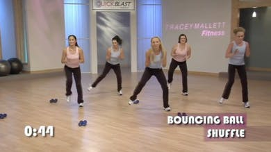 Total Body Calorie Blast : Quick Total Body Blast A by Tracey Mallett