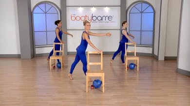 Ballet Booty Barre: Standing Abs & Thighs by Tracey Mallett