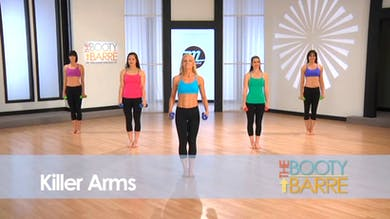 The Booty Barre Plus Abs & Arms: Killer Arms by Tracey Mallett