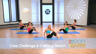 The Booty Barre Plus Abs & Arms: Core Challenge & Calming Stretch by Tracey Mallett